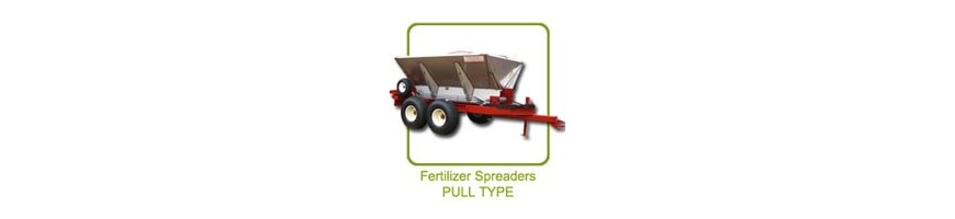 Chandler Pull Type Fertilizer and Lime Spreaders