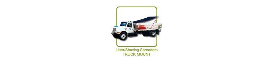 Chandler Poultry Litter, Lime and Compost Spreaders Truck Bed