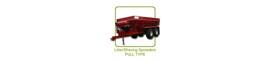 Chandler Poultry Litter, Lime and Compost Pull-Type Spreaders